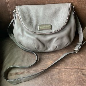 Marc byMarc Jacobs Gray Leather Natasha Crossbody